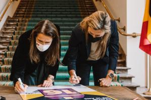 Les jeunes dès l'âge de seize ans auront la possibilité de voter dans le cadre des élections européennes