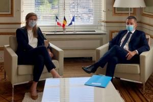 Bilaterale ontmoeting met de Franse minister van Binnenlandse Zaken