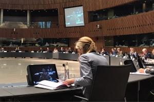 Minister Verlinden nam deel aan de Europese Raad Justitie en Binnenlandse Zaken